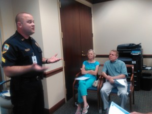 Sergeant Paul Rogers of the Palm Beach Gardens Police Department